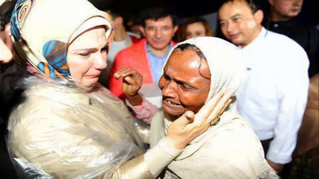 Photo of Turkey the first Country to Support Burma Muslims Practically and not only with words.